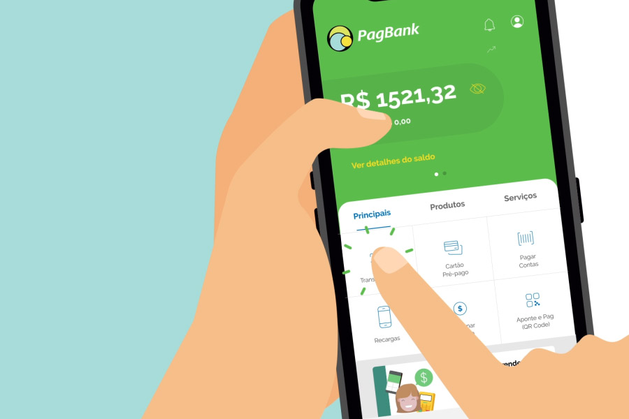 PagBank + Cabify